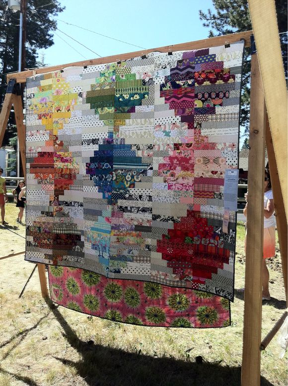Teacher's Tent: Sisters Outdoor Quilt Show