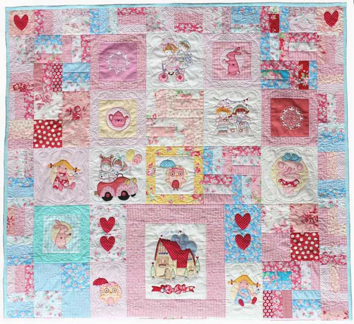 Fun Girls Quilt