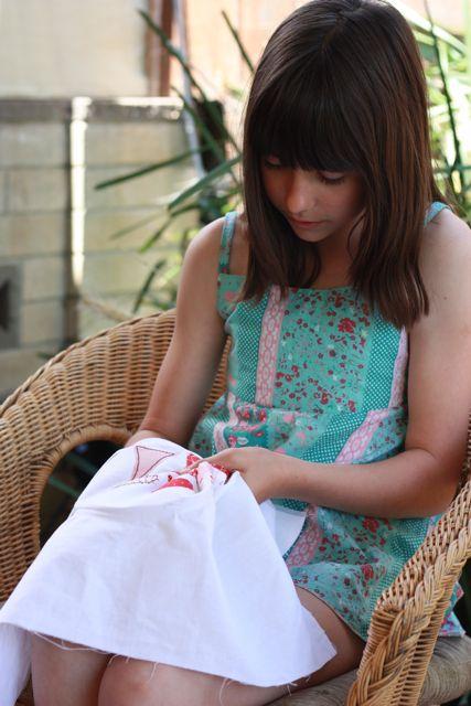 Rachel Stitching
