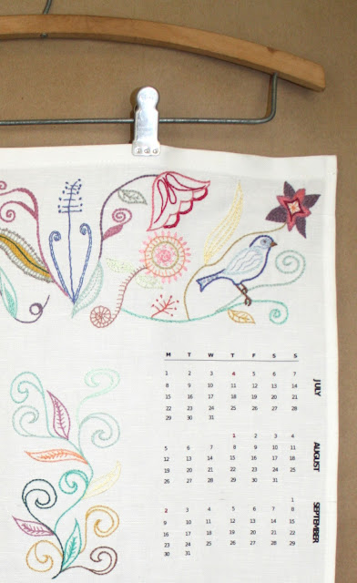 Calendar brown 2012a