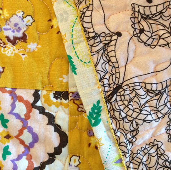 Embroideredbinding