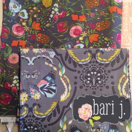 Bari J. Strike Off Fabric Samples: Spring 2014
