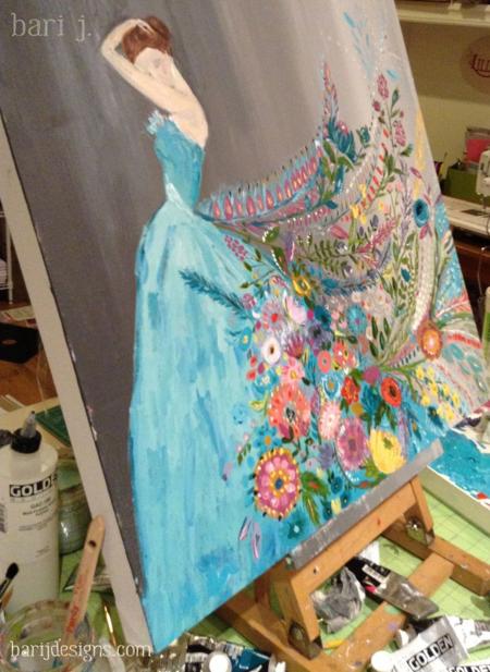 The Dream by Bari J. #art #painting