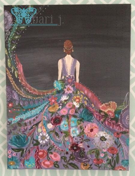 Silent Melody 2 by Bari J. acrylic on canvas