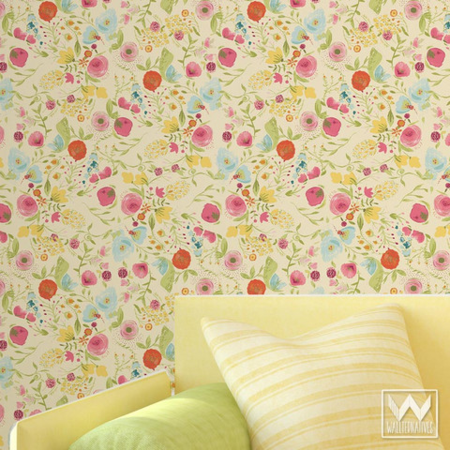Bari J. for Wallternatives Wallappeal Removable and reusable wallpaper
