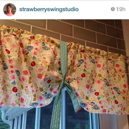 Emmy Grace fabric by Bari J. made by Strawberry swing studio