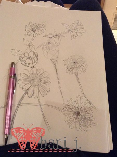 Flowersketch2