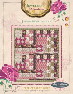 Jeweled Wanderer Quilt By Bari J.
