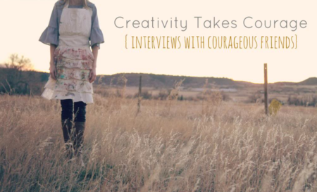 Creativity Takes Courage with Jeanne Oliver