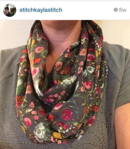 Emmy Grace fabric by Bari J. made by Stitch kayla stitch