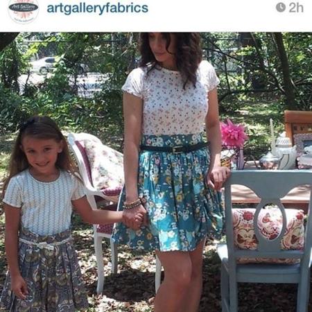 Emmy Grace fabric by Bari J.