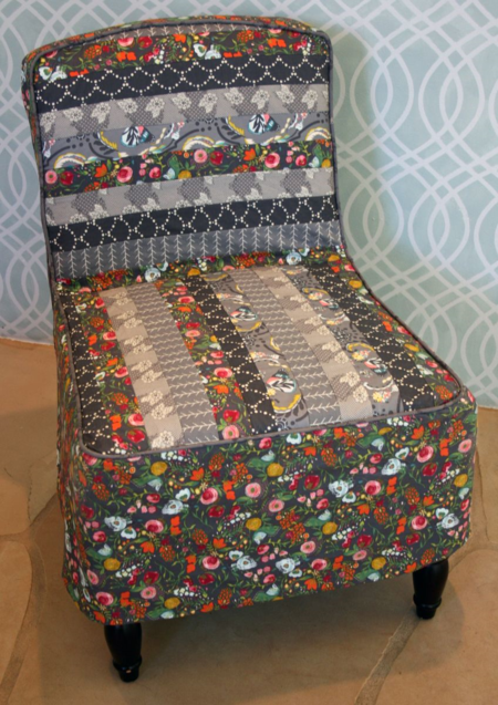 Bari J. Patchwork Slipcover Project for The Sewing Party
